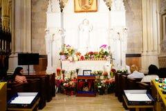 La catedral de St Patrick en Pascua 2019 4 imágenes de archivo libres de regalías