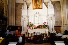 La catedral de St Patrick en Pascua 2019 3 imagen de archivo libre de regalías
