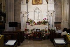 La catedral de St Patrick en Pascua 2019 1 fotografía de archivo