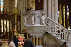 La catedral de St Patrick en Pascua 2019 111 fotos de archivo