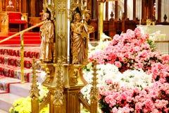 La catedral de St Patrick en Pascua 2019 105 imagen de archivo