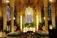 La catedral de St Patrick en Pascua 2019 104 fotos de archivo