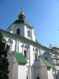 La catedral de St Sophia St Sophia Cathedral es un templo construido en la primera mitad del siglo XI en el centro de Kiev foto de archivo libre de regalías