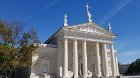 La catedral de St Stanislaus y de St Wladyslaw Imagen de archivo libre de regalías