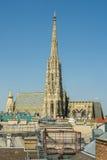 La catedral de St Stephen (Stephansdom) Foto de archivo