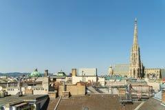La catedral de St Stephen (Stephansdom) Fotos de archivo