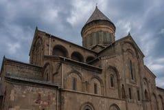 La catedral de Svetitskhoveli, Georgia Foto de archivo libre de regalías
