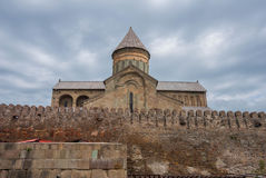 La catedral de Svetitskhoveli, Georgia Imagenes de archivo