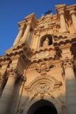 La catedral de Syracuse sicilia Imágenes de archivo libres de regalías