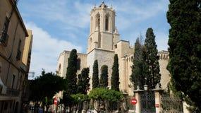 La catedral de Tarragona imagenes de archivo