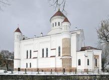 La catedral de Theotokos en Vilnius imagen de archivo libre de regalías