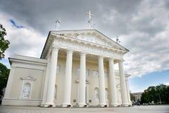 La catedral de Vilna, Lituania Imagen de archivo
