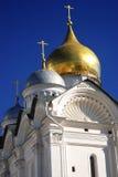 La catedral del arcángel de Moscú el Kremlin Imagen de archivo libre de regalías