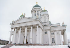 La catedral del Lutheran en Helsinki Imagen de archivo
