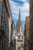 La Catedral del Mar in Barcelona Stock Image