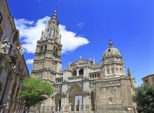 La catedral del primate de St Mary de Toledo, España fotos de archivo