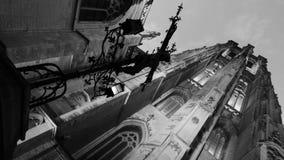 La catedral en la ciudad de mechelen imagen de archivo libre de regalías