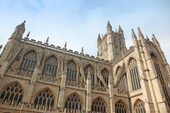 La catedral en el baño, Inglaterra imagen de archivo libre de regalías