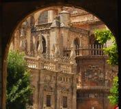 La catedral en Sevilla, España Fotografía de archivo