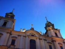La catedral en Varsovia Imagen de archivo libre de regalías
