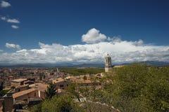La catedral. Girona Imágenes de archivo libres de regalías