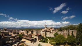 La catedral. Girona Foto de archivo libre de regalías