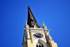 La catedral histórica importante, Novi Sad, Serbia Fotografía de archivo libre de regalías