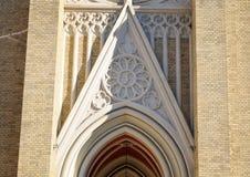 La catedral histórica importante, Novi Sad, Serbia Imagen de archivo