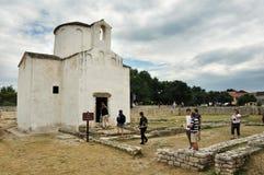 La catedral más pequeña de los mundos imagen de archivo