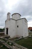 La catedral más pequeña del mundo en Nin, Croacia Foto de archivo libre de regalías