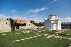 La catedral más pequeña en el mundo fotos de archivo