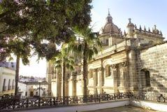 La catedral más vieja foto de archivo libre de regalías