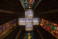La catedral metropolitana del santo Sebastian Portuguese: Catedral Metropolitana de São Sebastião r fotos de archivo