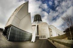 La catedral metropolitana, Liverpool, Inglaterra fotografía de archivo