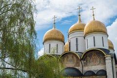 La catedral Moscú el Kremlin, Rusia de la suposición fotos de archivo