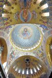 La catedral naval de San Nicolás el Wonderworker - las construidos Fotografía de archivo