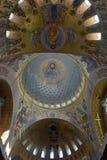 La catedral naval de San Nicolás el Wonderworker - las construidos Foto de archivo