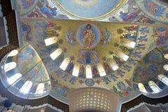 La catedral naval de San Nicolás el Wonderworker - las construidos Imágenes de archivo libres de regalías