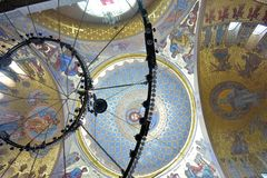 La catedral naval de San Nicolás el Wonderworker - las construidos Imagen de archivo