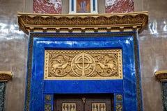 La catedral naval de San Nicolás la catedral naval de Wonderworker Nikolsky Stauropegic es la más grande de las catedrales del ma foto de archivo libre de regalías