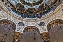 La catedral naval de San Nicolás la catedral naval de Wonderworker Nikolsky Stauropegic es la más grande de las catedrales del ma imagen de archivo