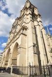 La catedral Notre-Dame Fotos de archivo