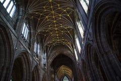 La catedral o la iglesia de monasterio en Chester England Foto de archivo