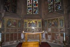 La catedral o la iglesia de monasterio en Chester England Imágenes de archivo libres de regalías