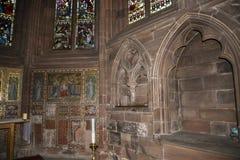 La catedral o la iglesia de monasterio en Chester England Fotografía de archivo libre de regalías