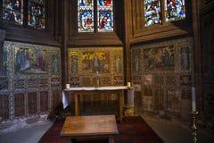 La catedral o la iglesia de monasterio en Chester England Foto de archivo libre de regalías
