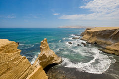 La Catedral, Paracas, Peru Royalty Free Stock Photography