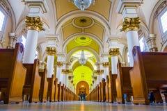 La catedral primaria de Bogotá localizó en Bolivar Imagenes de archivo