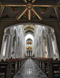 La catedral Real de La Almudena de de Santa MarÃa de La Photos stock