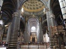 La catedral - Siena Foto de archivo libre de regalías